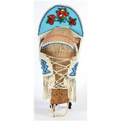 Native American Baby Cradle  (87549)