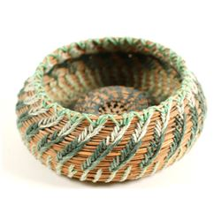 Yosemite Pine Needle Basket  (90728)