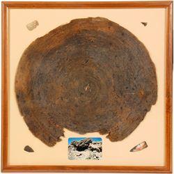 Ancient Flat Basket  (91174)