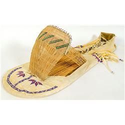 Paiute Boy's Baby Basket  (90799)
