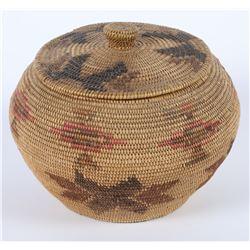 Paiute Panimint Basket w/Lid  (85902)