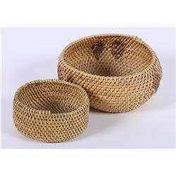 Paiute/Shoshone Baskets (2)  (85922)