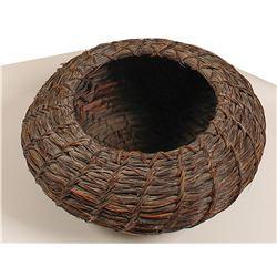 Papago Horse Hair Basket  (90729)