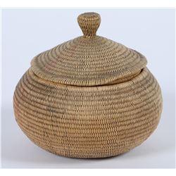 Shoshone Coiled Lid Basket  (87812)