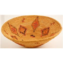 Vintage Apache Jicarilla Basket  (63874)
