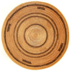 African Coiled Basket  (90569)