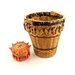 Baskets From the Micmac Tribe  (83557)