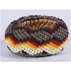 Nixon, Nevada Paiute cut Bead Miniature Basket  (87841)