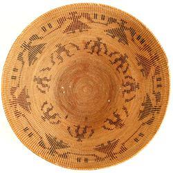 Yokuts Human Figural Pattern Basket  (90568)