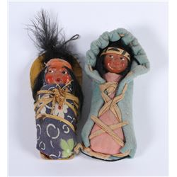 Miniature Dolls (2)  (85973)
