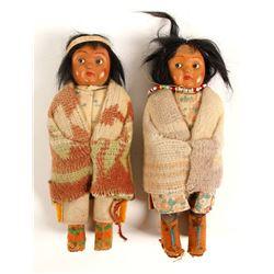 Apache Girl Dolls (2)  (90625)