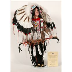 "Native American ""Chief"" Doll  (88556)"