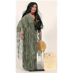 "Native American ""Squaw"" Doll  (88555)"