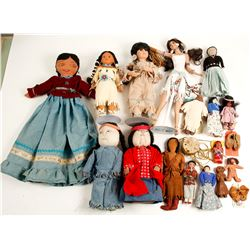 Native American Doll Collection (16)  (98039)