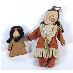 Native American Dolls (2)  (87804)