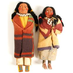 Native American Dolls (2)  (90624)