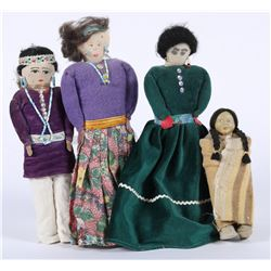 Native American Dolls (4)  (87803)
