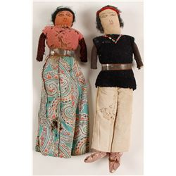 Small Navajo Dolls (2)  (90976)