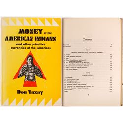 Books: Money of the American Indians by Taxay (3 count)  (55763)