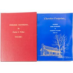 Cherokee Footprints Books (2)  (55105)