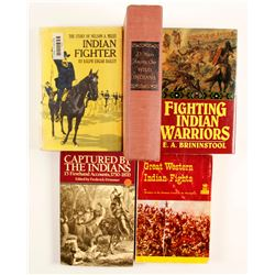 Indian Battle Books (5)  (86224)
