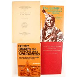 New England Native American Books (4)  (86223)