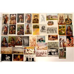 Generic Native American Post Card Collection  (100523)