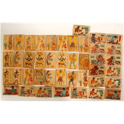 Wooden Postcards of Hopi Lifeways  (91423)