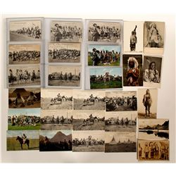 Blackfoot Tribe Postcards  (91434)