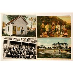 Indian Boarding Schools Post Cards  (100520)