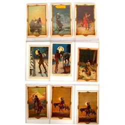 Native American Advertising Cards - H.J. Soulen Art Cards  (91417)