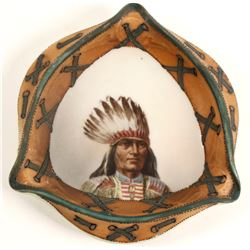 Native American Ashtray  (89322)