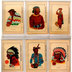 Native American Transfer Postcards   (91421)