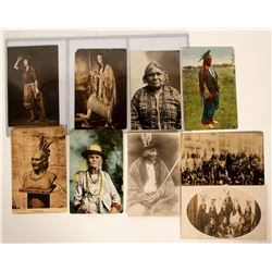 Postcards of East Coast Indians  (91435)