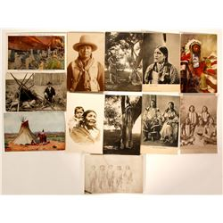 Ute Indians on Postcards  (91443)