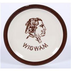 Wigwam Plate  (87837)