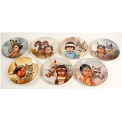 7 Native American Plates  (98022)