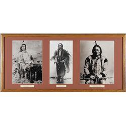 3 Chiefs Framed Photo's  (98046)