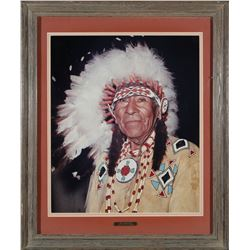 Chief Winnemucca Framed Photo by Kohz  (87626)