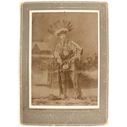 Chippewa Indian Cabinet Card  (90243)