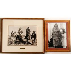 Geronimo and Mabel Framed Photos  (98037)