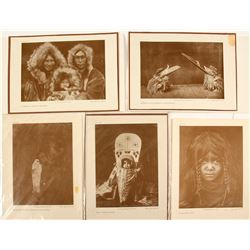 Native American Photo Reprints by Curtis (5 count)  (60801)