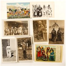 Postcards (Misc. RPC's & Chromo's of Native Americans)  (90717)