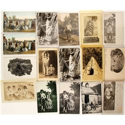 Postcards (Native American Collection) Litho's & RPC's  (90710)