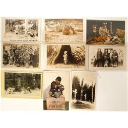 Pacific Northwest Indian Postcards (9)  (90714)
