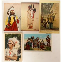 Indian Postcards (7)  (90712)