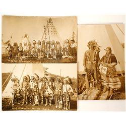 Plains Native Americans RPC's (3) (90718)