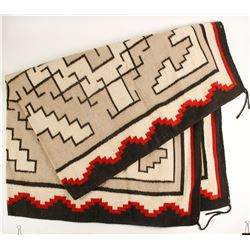 Navajo Style Rug, Made in Mexico  (88501)