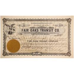 Fair Oaks Transit Co.   (77259)