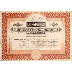 Shot-Lite Corporation of America  (89704)